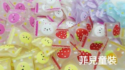 【菲兒♡童裝】 82805 草莓兔子糖果 樹脂貼飾 手機美容 髮飾貼片 貼飾  髮飾DIY 手作材料