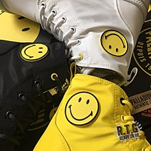 【R.T.G】現貨 PALLADIUM X SMILEY WATERPROOF PLUS 微笑 時尚黑 快樂白 微笑黃