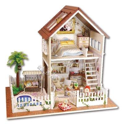 【酷正3C】DIY小屋 袖珍屋 娃娃屋 模型屋 材料包 玩具娃娃住屋 禮物 A025巴黎公寓