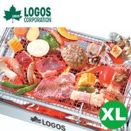 丹大戶外用品 日本【LOGOS】81064638 EZ歡樂烤肉XL 烤肉網/炭火網/網架