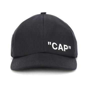 OFF-WHITE  CAP 棒球帽