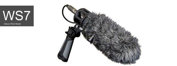 造韻樂器音響- JU-MUSIC - 全新 RODE WS7 指向型麥克風 防風罩 NTG3適用
