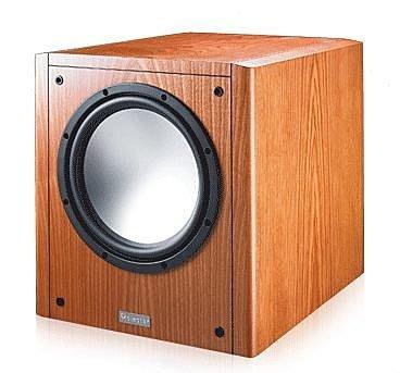 【昌明視聽】加拿大波耳星 POLESTAR V-SW1 櫻桃木 10吋 重低音音箱