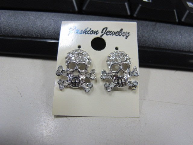 二手舖 NO.4468 時尚造型耳環 耳針 耳鉤 便宜賣 首飾飾品