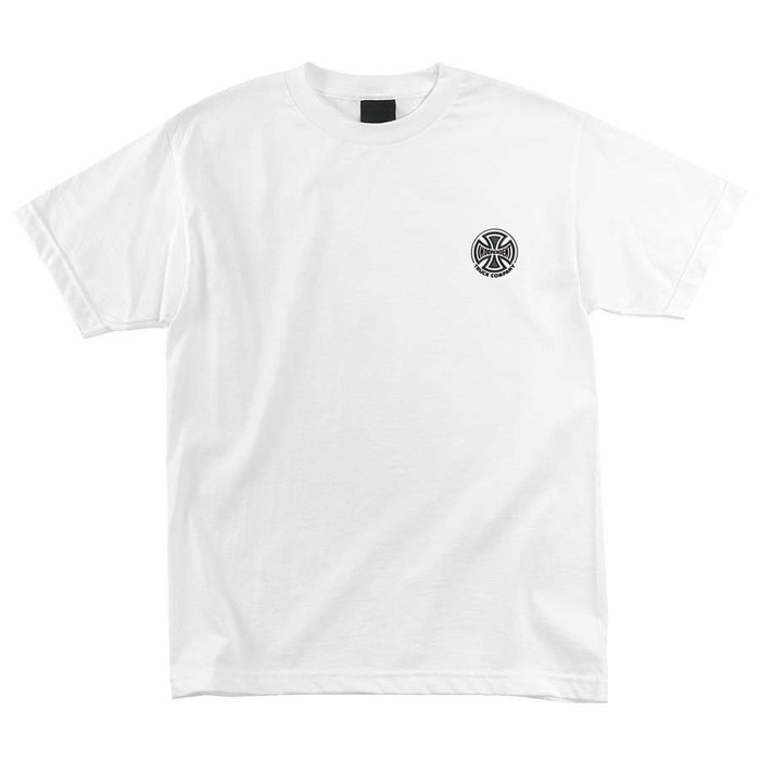 [JIMI 2] Independent - TRUCK CO. EMBROIDERY  輪架 Logo短Tee 滑板