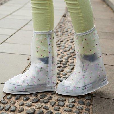 hello小店-鞋套家用可反復洗女款高筒旅行防沙雨天防水防滑加厚耐磨雨鞋套新#鞋套#防雨鞋套#防沙鞋套