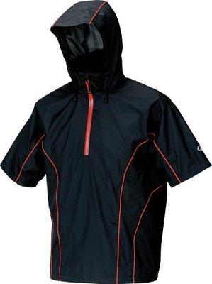 GAMAKATSU 春、夏、秋天專用短袖透氣雨衣 僅剩一件尺寸:3L