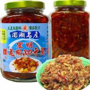 宏明櫻花蝦XO干貝醬
