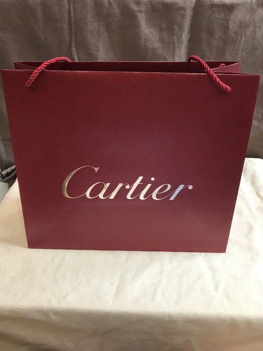 cartier卡地亞紙袋