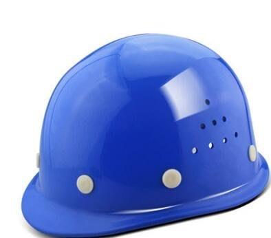 玻璃鋼安全帽工地透氣施工領導安全頭盔免費印字建築工程勞保電力