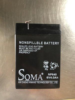 6V4AH 鉛酸電池 兒童電動車 緊急照明燈 手電筒 電子秤  全新電池衝銷售 限量優惠