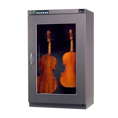 【六絃樂器】全新防潮家 D-206AV 微電腦顯示型206公升小提琴專用防潮箱 / 五年保固 終身保修