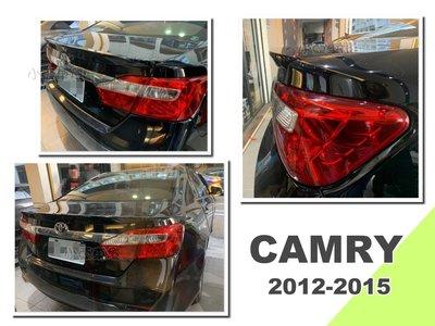 小亞車燈*new camry 2012 12 13 14 15 年 7代 7.5代 原廠 尾翼 小鴨尾翼 含烤漆 台南市