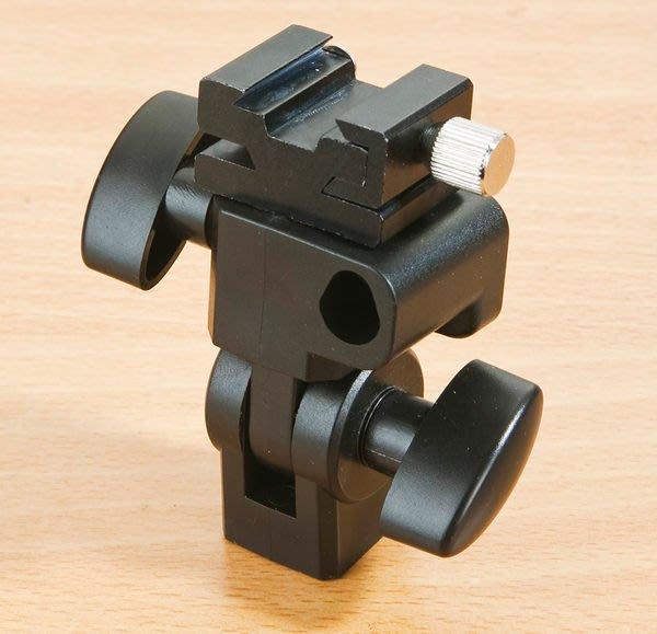 呈現攝影-傘座/關結-Godox 多功能傘座 E型 上柔光傘反光傘 上相機/燈腳架 轉接座 離機閃