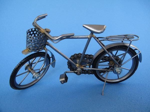 【洛克索克專賣本舖 】環保復腳踏車模型 重型機車模型 腳踏車可動 人偶用腳踏車 擺飾