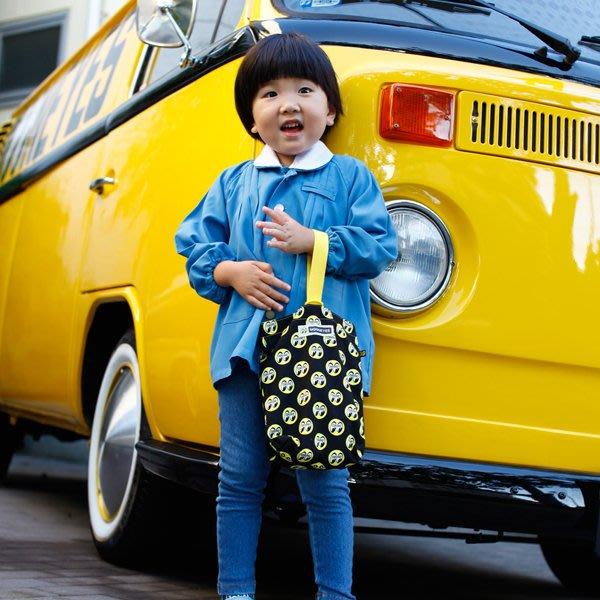 (I LOVE樂多) MOONEYES LOGO 滿版圖案 孩童鞋袋 隨身包  手提袋