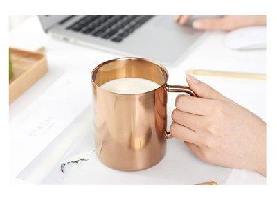 精選優質304不繡鋼 鍍銅保溫杯 鍍金杯 鍍銅杯 雙層保溫杯 雙層保冷杯 咖啡杯 牛奶杯 鍍銅馬克杯 高雄市