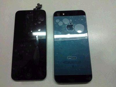 威宏資訊 台中市 修哀鳳 iPHONE 5 手機螢幕破裂 觸控螢幕 LCD iPHONE 5 5S 觸控面板