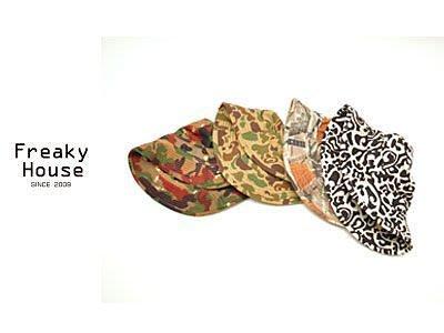 *~Freaky House~* 日本東京表參道風格時尚迷彩漁夫帽-剩下9號色
