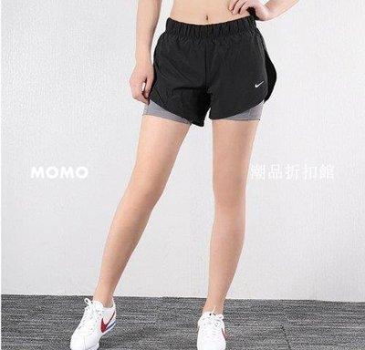 【MOMO潮品折扣館】NIKE FLX 2IN1 SHORT WOVEN 黑色 訓練 運動 短褲 女款 AR6354-013