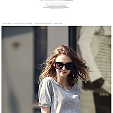EmmaShop艾購物-簡約時尚竹節棉圓領短袖0025