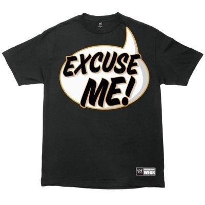 ☆阿Su倉庫☆WWE摔角 Vickie Guererro Excuse Me T-Shirt 絕版搞笑款衣服熱賣中