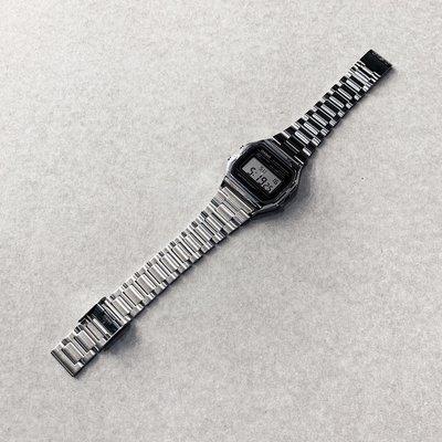 【inSAne】CASIO 卡西歐 韓國公司貨 A158WA -1D 電子錶 銀色 手錶
