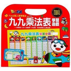 【大衛】風車 九九乘法表學習遊戲:FOOD超人數學魔法