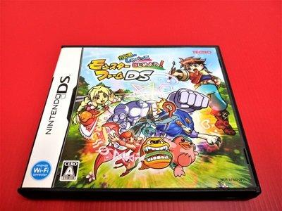 ㊣大和魂電玩㊣任天堂NDS遊戲 怪獸農場DS{日版}NDSL 2DS 3DS 主機可玩-編號:L1-6