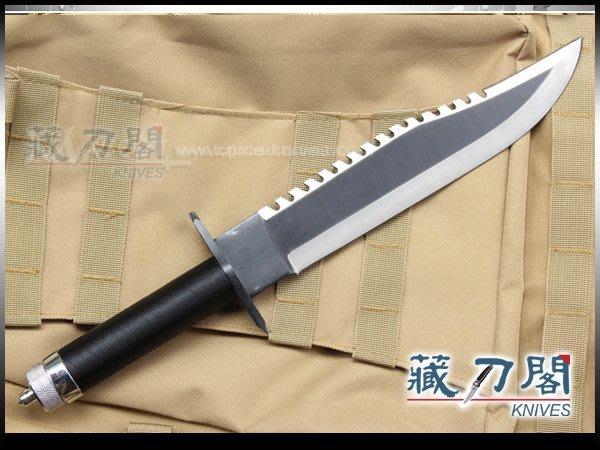 《藏刀閣》RAMBO-藍波刀二代