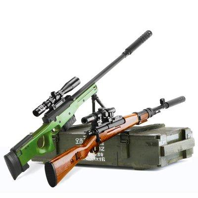積木城堡 迷你廚房 早教益智98k兒童男孩狙擊搶水彈槍玩具絕地吃雞求生仿真全套裝備ak手6歲