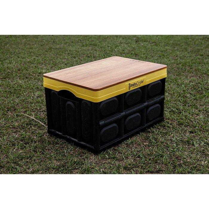 新幾內亞柚木蓋板(一片式)。原木圓生 / 收納箱 COSTCO  露營 桌板 摺疊箱 好市多 台灣製 戶外用品 現貨