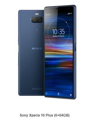 全新港行  Sony Xperia 10 Plus (6+64GB)
