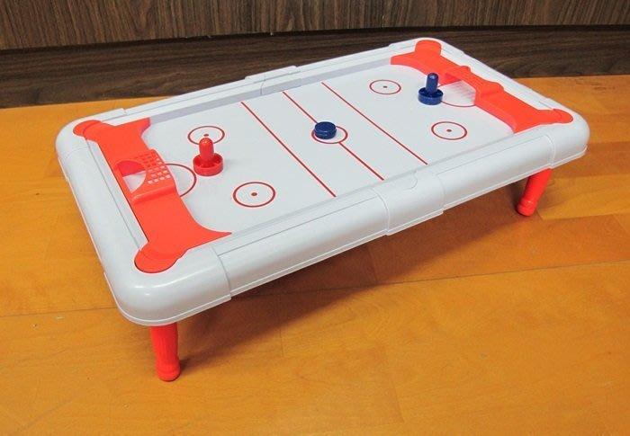 【阿LIN】202717 628-09 冰球台 兒童桌上型氣流球 Air Hockey 桌上冰球台 冰上曲棍球 Ice