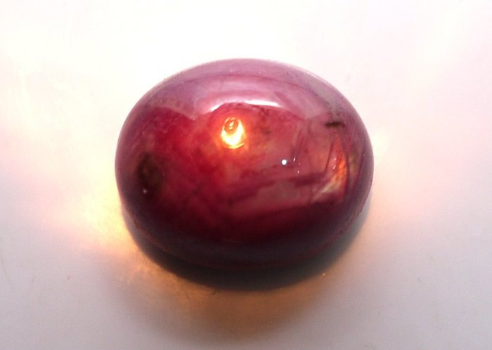 ((瑪奇亞朵的珠寶世界)) 少見的超大顆星光紅寶石 31.38CT