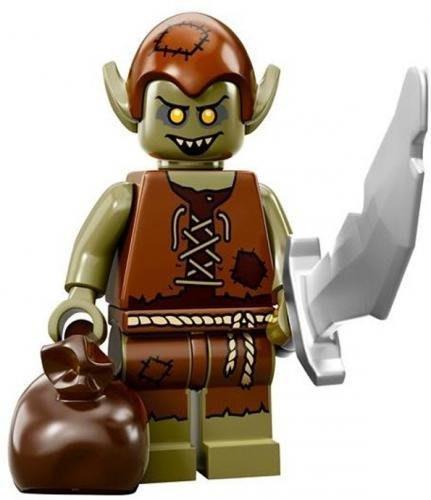 【LEGO 樂高】益智玩具 積木/ Minifigures人偶系列: 13代人偶包 71008   妖精大盜+大刀+袋子