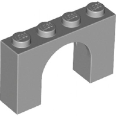6182-Light Bluish Gray Brick, Arch 1 x 4 x 2