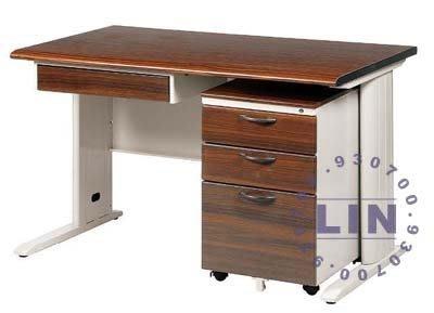 【品特優家具倉儲】◎P581-37辦公桌電腦桌TD木紋辦公桌 電腦桌◎