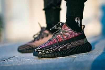 "ISNEAKERS adidas Yeezy Boost 350 V2 ""YECHEIL"" 黑紅 男女鞋 FW5190"