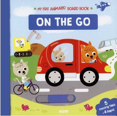 *小貝比的家*MY FIRST ANIMATED BOARD BOOK:ON THE GO/硬頁/3~6歲/拉拉書