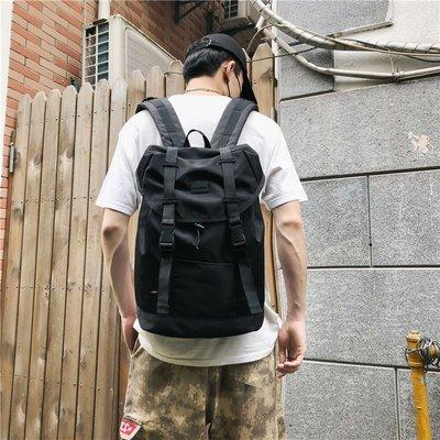 潮牌雙肩包男登山潮流韓版學生書包女休閑簡約電腦大容量旅行背包