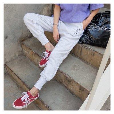 ♥韓版縮口慢跑褲~2色【kr6225】