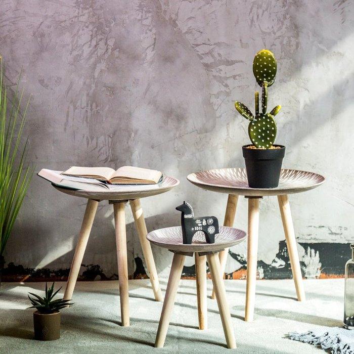 〖洋碼頭〗北歐復古木質小桌子擺件家居客廳小物件創意擺設簡約服裝店裝飾品 fjs367