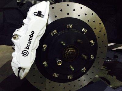 前大四活塞 + 雙片式碟盤 X1 X3 X4 X5 X6 Z4 F25 BMW 車系專用