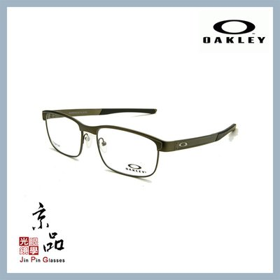 【OAKLEY】OX5132 02 鐵灰色 鈦金屬方框 光學鏡框 直營公司貨 JPG 京品眼鏡