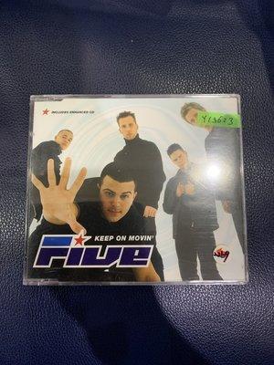 *還有唱片行*FIVE / KEEP ON MOVIN 全新 Y13623 (69起拍)