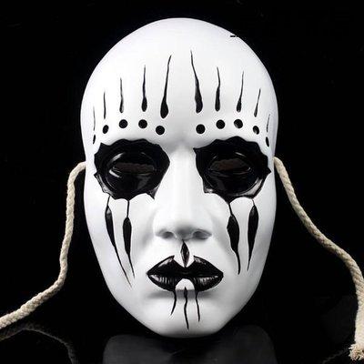 【優上精品】珍藏版活結樂隊活結面具 Slipknot Joey Mask 影(Z-P3185)