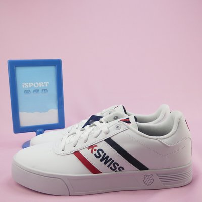 iSport愛運動 K-swiss COUNT LITE SPELLOUT S 休閒鞋 正品 76148113 男款 白