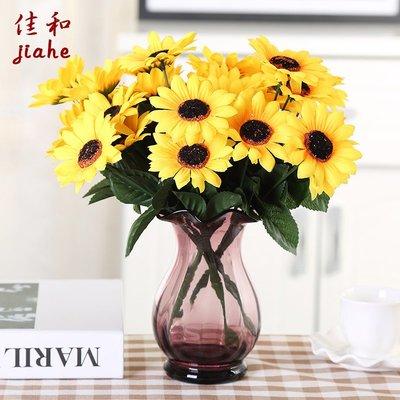 歐式花瓶歐式玻璃花瓶透明創意小花瓶客廳水培富貴竹插花干花桌面裝飾擺件