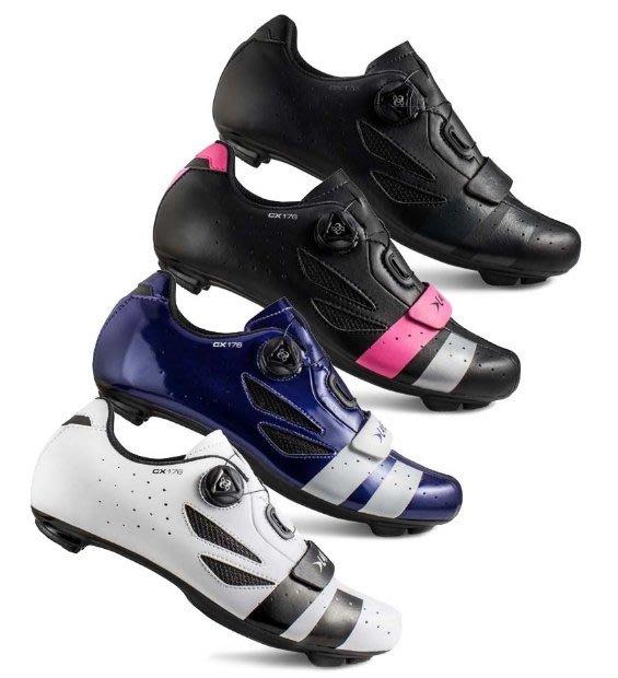 ~羽傑單車~LAKE CX-176X 公路車鞋 牛皮 寬楦 寬版 職業級 車鞋 卡鞋BOA系統